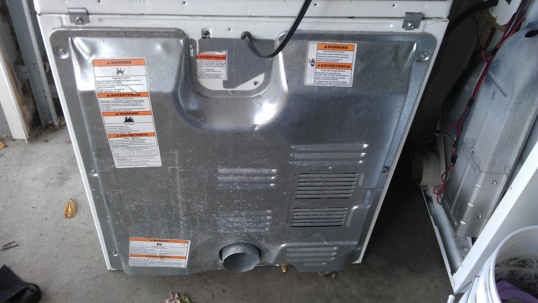 Where is the heating element on a Whirlpool Dryer? - Dryer Not Heating
