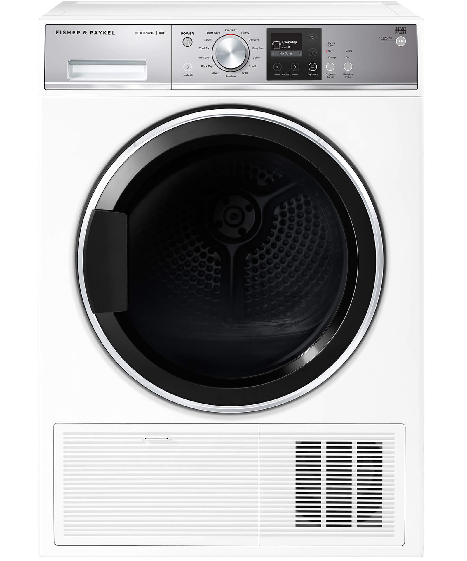 Fisher and paykel electric dryer